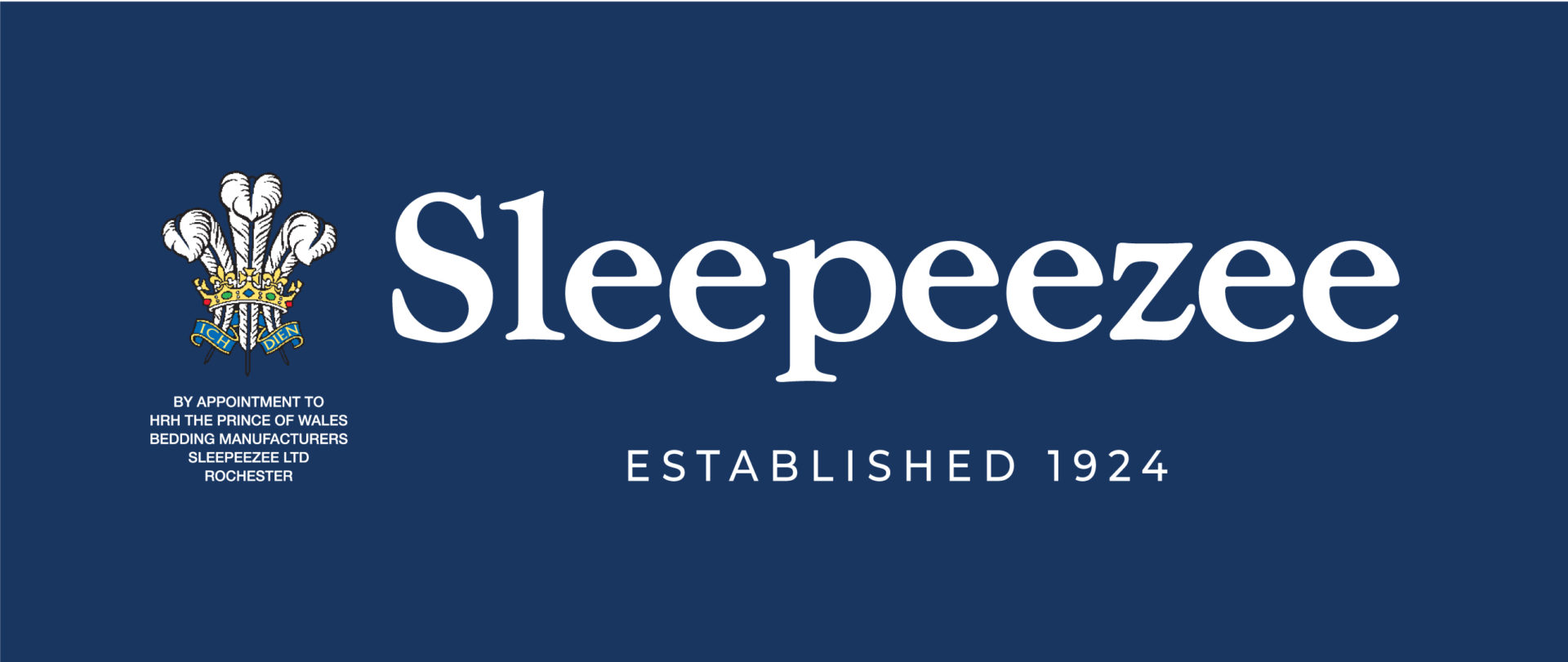 Sleepeezee Established 1924 with Crest Logo